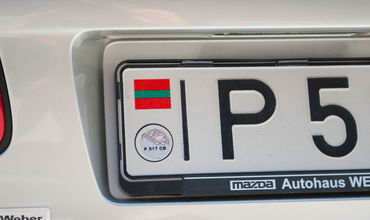 Приднестровье не согласно на выдачу номерных знаков ведомствами Молдовы
