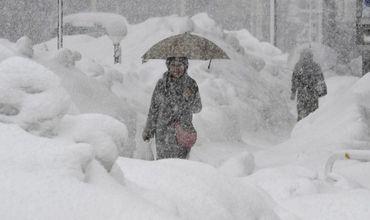 Согласно прогнозу гидрометеослужбы, в Молдове снегопады будут идти до конца недели.