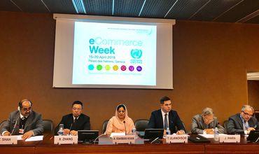 Стороны обсудили проблемы, связанные с внедрением некоторыми странами-членами ООН реформированной программы Asycuda в таможенной системе. Фото: mfa.gov.md.