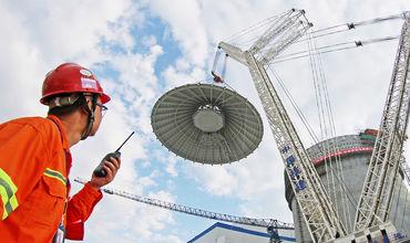Китай построит плавучую АЭС в ближайшие 5 лет.