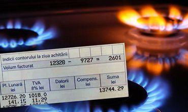 Жительнице Кишинева пришел рекордный счет за газ.