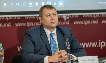Бывший кандидат на должность губернатора Национального банка Молдовы Вадим Брынзан.
