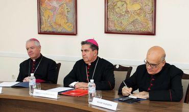 Глава МИД Приднестровья встретился с представителем Папы Римского