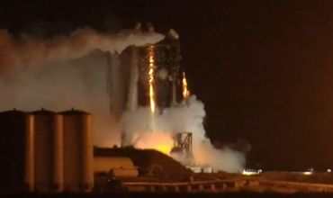 Прототип звездолета Илона Маска загорелся во время испытаний