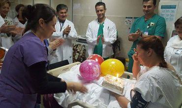 В молдавской больнице мать двоих детей пришла в себя после глубокой комы.