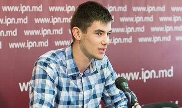 "Председатель организации ""Onoare, Demnitate și Patrie"" Влад Билецкий."