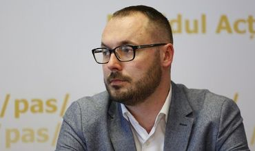 Депутат от блока ACUM Серджиу Литвиненко.