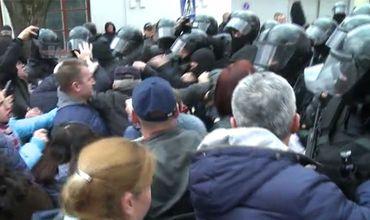 Полиция прокомментировала применение слезоточивого газа в Оргееве