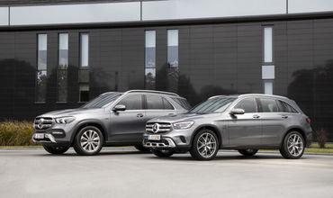 Mercedes презентовала гибридные GLE и GLC.