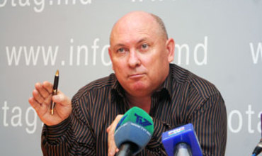 "Председатель Общественной ассоциации ""Моя Молдова"" Федор Гелич. Фото: infotag.md"