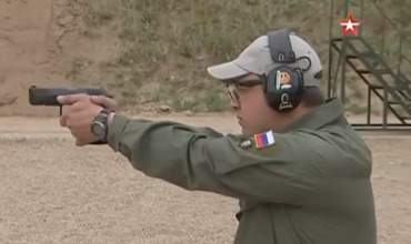 Замену пистолету Макарова впервые показали в деле.
