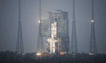 Китай осуществит первый в стране запуск спутников с морского космодрома.