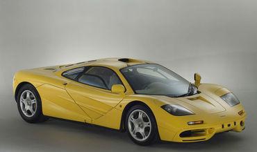 McLaren F1 1997 года с пробегом в 200 км был выставлен на продажу