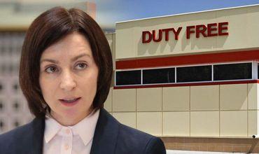 Санду намерена закрыть магазины duty free на молдавской границе