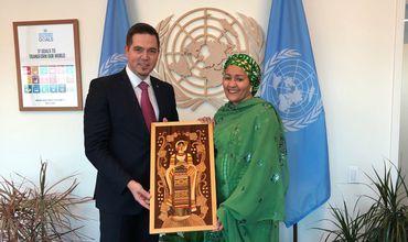 Ульяновски обсудил сотрудничество Молдовы и ООН с заместителем Генсека