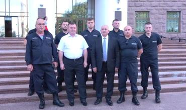 Группа полицейских объявила о поддержке правительства Санду.