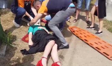В Кишиневе сбили девушку на пешеходном переходе.
