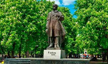 На Украине в селе Шевченково пропал памятник Тарасу Шевченко