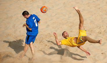 В итальянском городе Катания стартует финальная стадия чемпионата Европы по пляжному футболу в Дивизионе