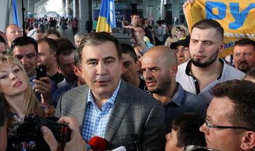 Бывший президент Грузии Михаил Саакашвили впервые после своего изгнания и возвращения посетил Одессу.