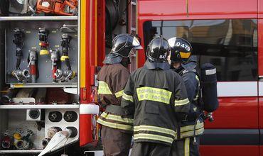 В жилом доме в Москве произошел взрыв.