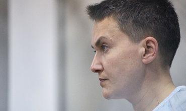 Савченко планирует выезжать к избирателями в автозаке, сообщила ее сестра.