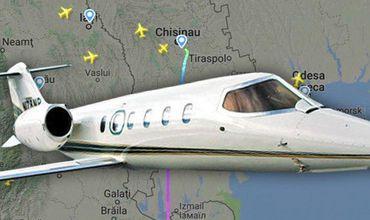 Еще один частный самолет вылетел из аэропорта Кишинева.