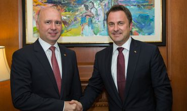 Премьер Павел Филип встретился со своим коллегой из Люксембурга