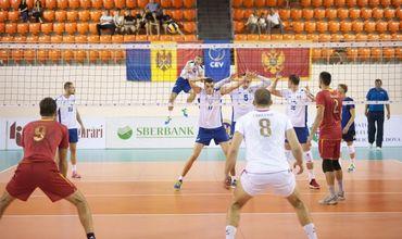 Молдова проиграла со счётом 18:25, 21:25 и 13:25 и заняла 3-е место.