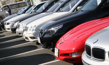 Водители не спешат регистрировать свои автомобили с зарубежными номерами