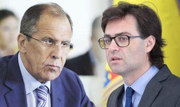 Глава МИД Нику Попеску проведет встречу с Сергеем Лавровым.