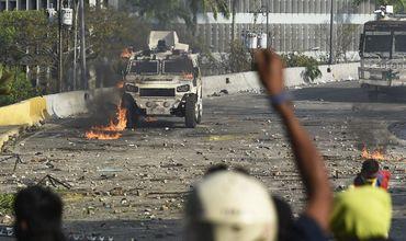 США допустили военный вариант разрешения ситуации в Венесуэле.