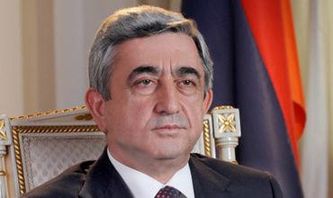 Президент Армении направился в Нагорный Карабах