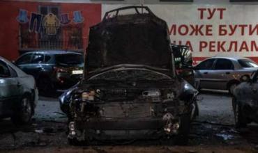 Moment Vzryva Avtomobilya Oficera Ukrainskoj Razvedki Popal