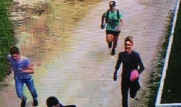 На улице Пажурий в секторе Рышкановка группа подростков принялась забрасывать камнями дом с участком.
