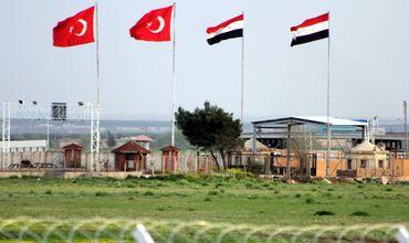 Турция также пытается перекрыть часть границы с Сирией протяженностью 70 километров.