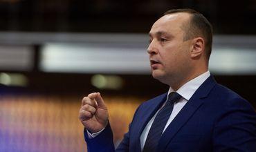 Член молдавской делегации в ПАСЕ, председатель парламентской фракции Партии социалистов РМ Влад Батрынча.