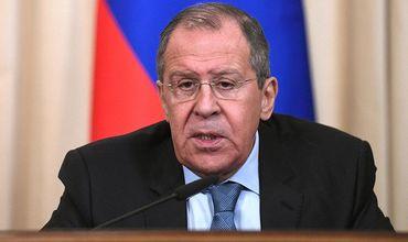 Глава Министерства иностранных дел России Сергей Лавров.