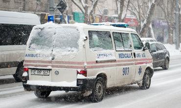 В дни Рождества в Службу скорой помощи обратилось около 13 тысяч человек