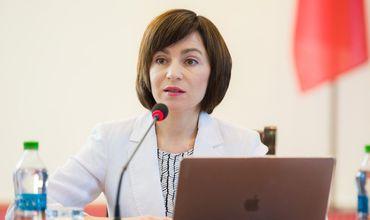 Майя Санду обратилась к депутатам ACUМ, ПСРМ и гражданам