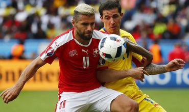 Сборные Румынии и Швейцарии не выявили победителя на Евро-2016.