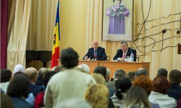 Филип встретился с властями и предпринимателями района Штефан-Водэ