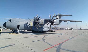 В Кишиневе приземлился военный борт с бронированным автомобилем Эрдогана