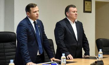 Нэстасе представил исполняющего обязанности главы Национальной полиции Георгия Балан.