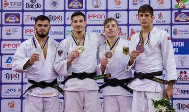 Молдавские спортсмены завоевали две медали на Кубке Европы по дзюдо.