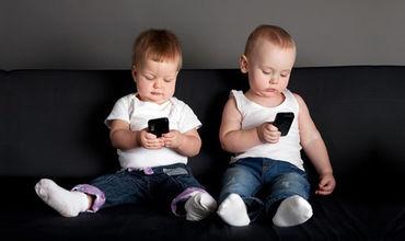 Исследование показало, что около 85% детей не могут обойтись без смартфона.