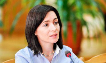 Майя Санду говорит об опасности Кремля для Республики Молдова.