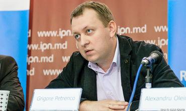 """Лидер политической партии """"Наш дом – Молдова"""" Григорий Петренко."""
