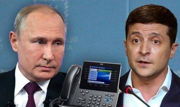 Путин и Зеленский провели телефонный разговор.