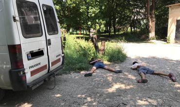 На Ботанике двое несовершеннолетних угнали авто, чтобы покататься.